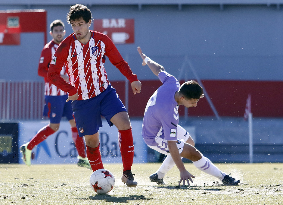 Temporada 17/18 | Atlético B - Valladolid B | Olabe