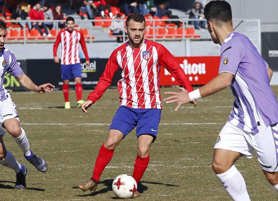 Temporada 17/18 | Atlético B - Valladolid B | Keidi
