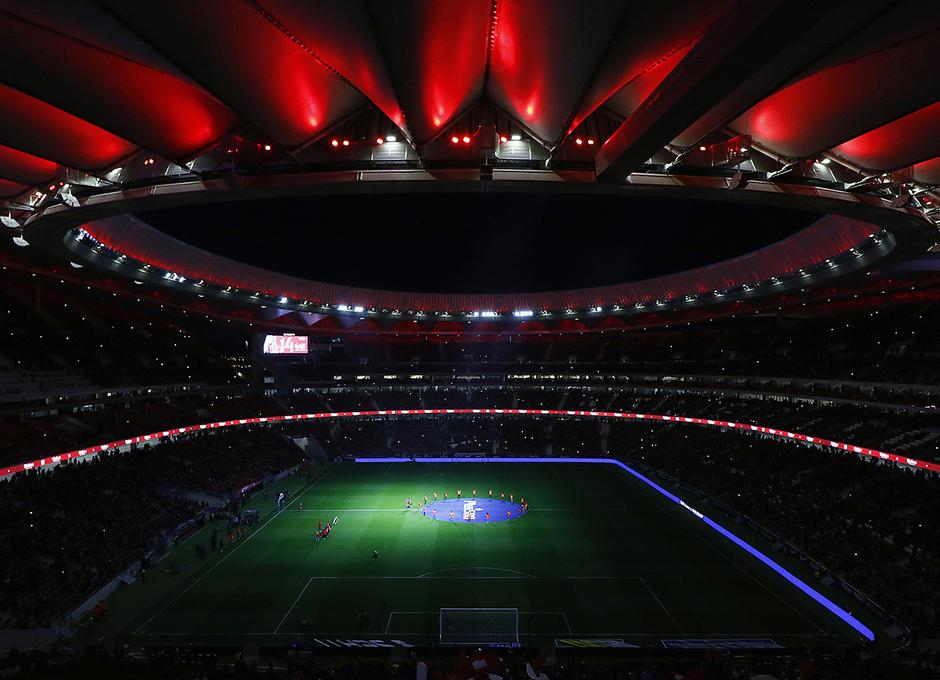 Temporada 17/18 | Afición, Wanda Metropolitano, show de luces, thunderstruck