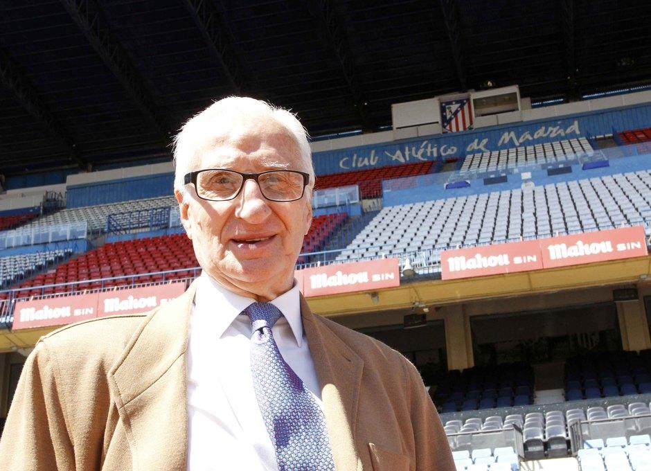 Isacio Calleja en el Vicente Calderón