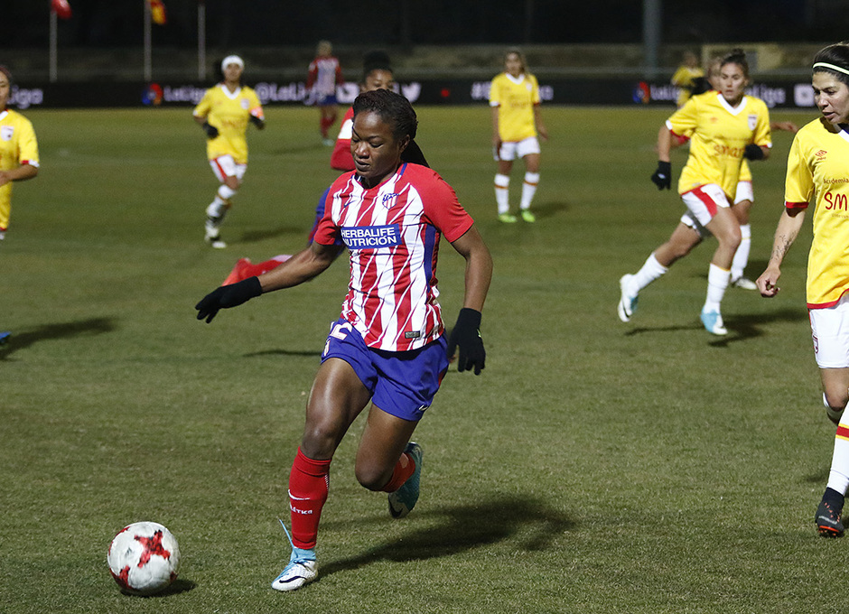 Temp. 17-18 | Atlético de Madrid Femenino - Santa Fe | Ordega