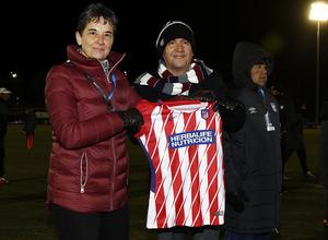 Temp. 17-18 | Atlético de Madrid Femenino - Santa Fe | Camiseta