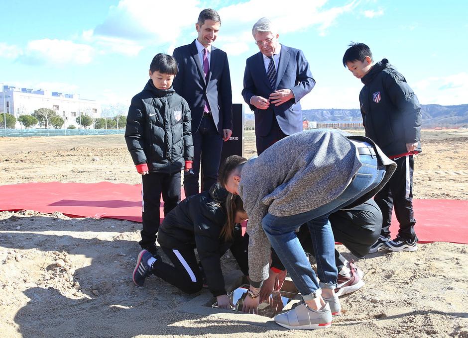 temporada 17/18. Acto colocación primera piedra en la nueva sede de Alcalá de Henares