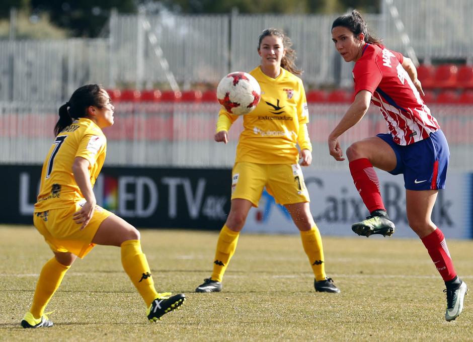 Temporada 17-18. Partido Atlético de Madrid femenino- Santa Teresa. Meseguer.