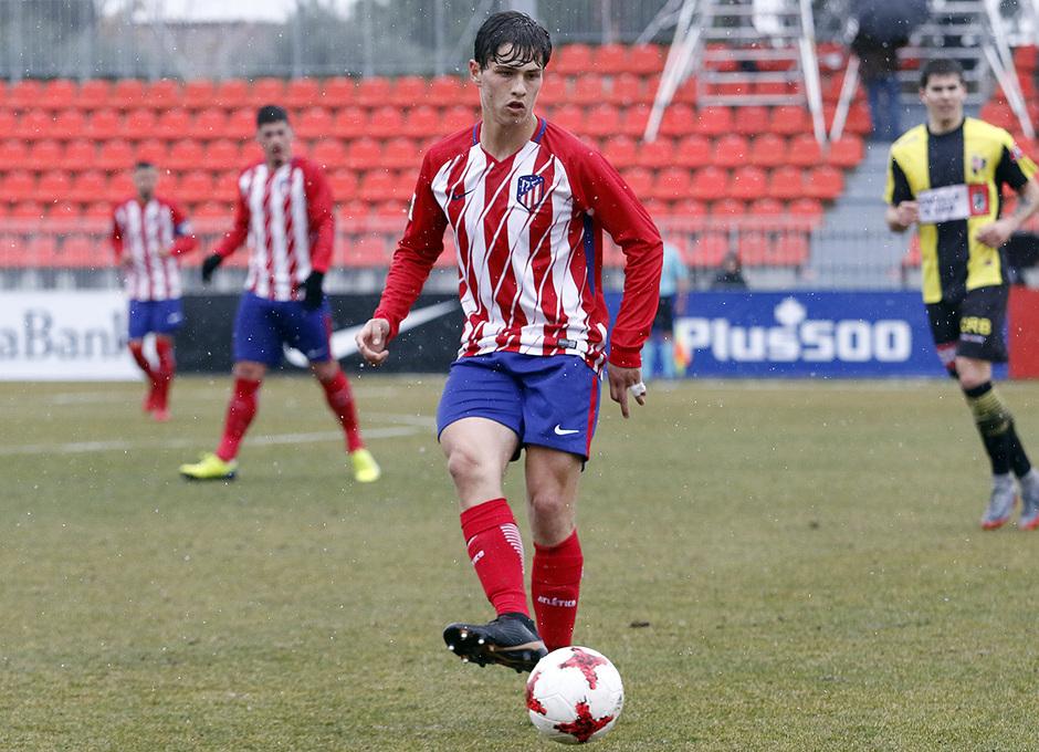 Temp. 17-18 | Atlético de Madrid B - Rápido de Bouzas | Solano