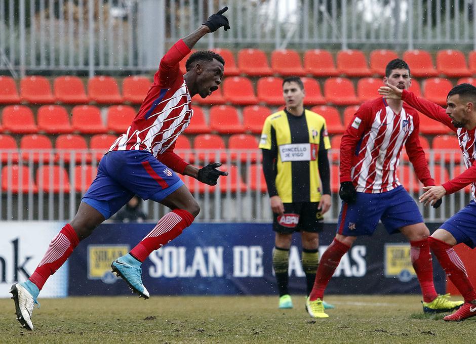 Temp. 17-18 | Atlético de Madrid B - Rápido de Bouzas | Emaná