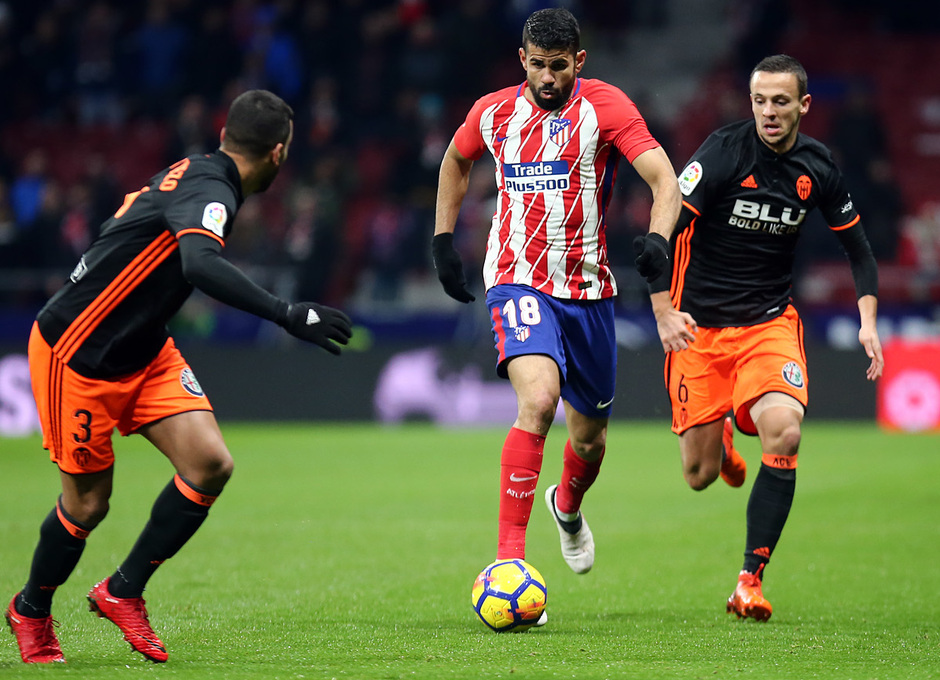 Temp. 17-18 | Atlético de Madrid - Valencia | Diego Costa