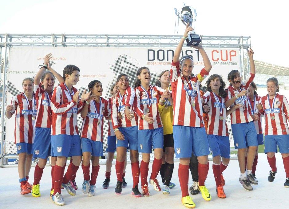 Temporada 2012-2013. El Alevín A subcampeón de la Donosti Cup