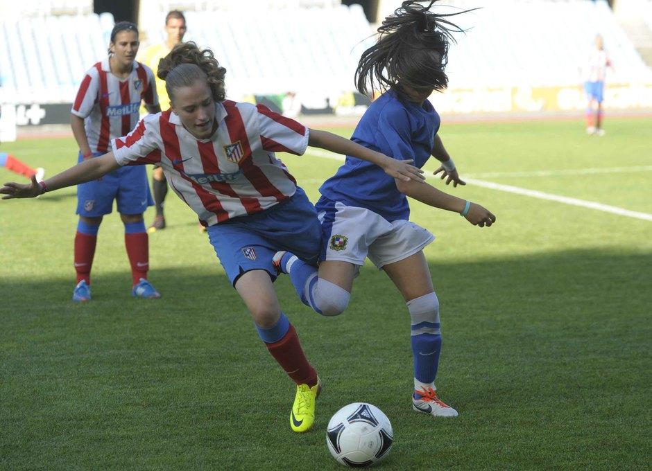 Temporada 2012-2013. El Féminas D cayó en la final ante el Sant Gabriel