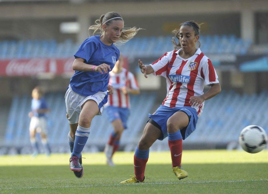 Temporada 2012-2013. El Féminas D en la final de la Donosti Cup