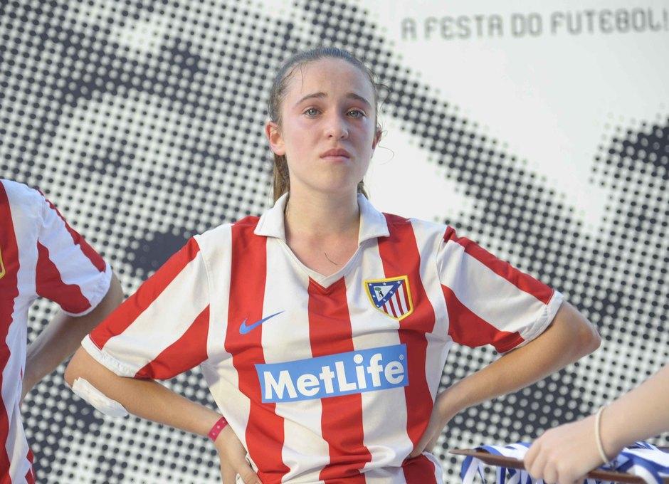 Temporada 2012-2013. Las jugadoras del Féminas D no pudieron contener las lágrimas