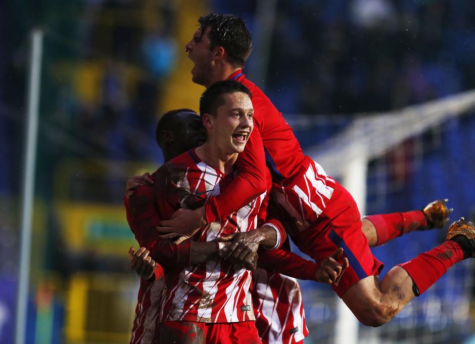 Temp. 17-18 | Youth League | FK Željezničar - Juvenil A | Celebración