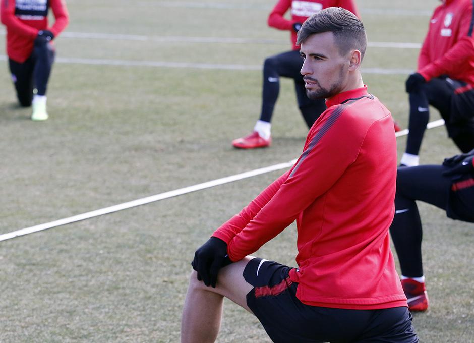 Temporada 17/18 | 09/02/2018 | Entrenamiento en la Ciudad Deportiva Wanda | Rafa Muñoz
