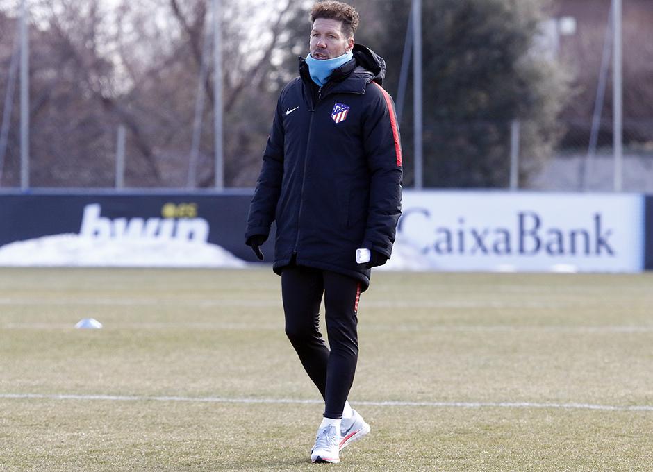 Temporada 17/18 | 09/02/2018 | Entrenamiento en la Ciudad Deportiva Wanda | Simeone
