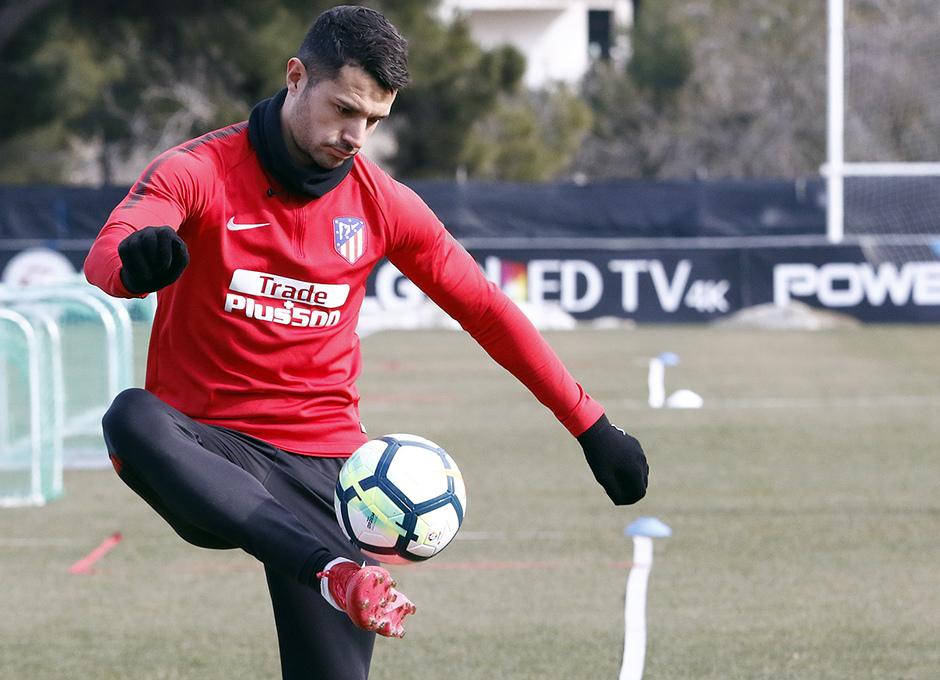 Temporada 17/18 | 09/02/2018 | Entrenamiento en la Ciudad Deportiva Wanda | Vitolo