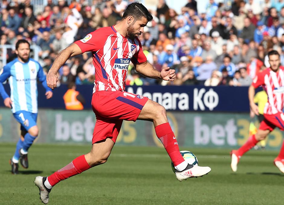 Temp. 17-18 | Málaga - Atlético de Madrid | Costa