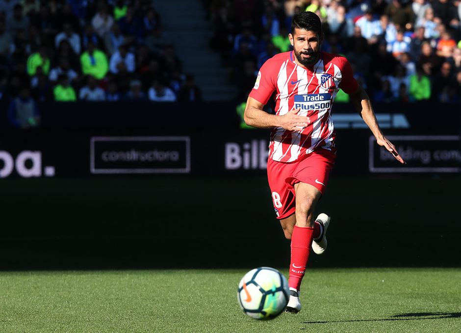 Temp. 17-18 | Málaga - Atlético de Madrid | Diego Costa