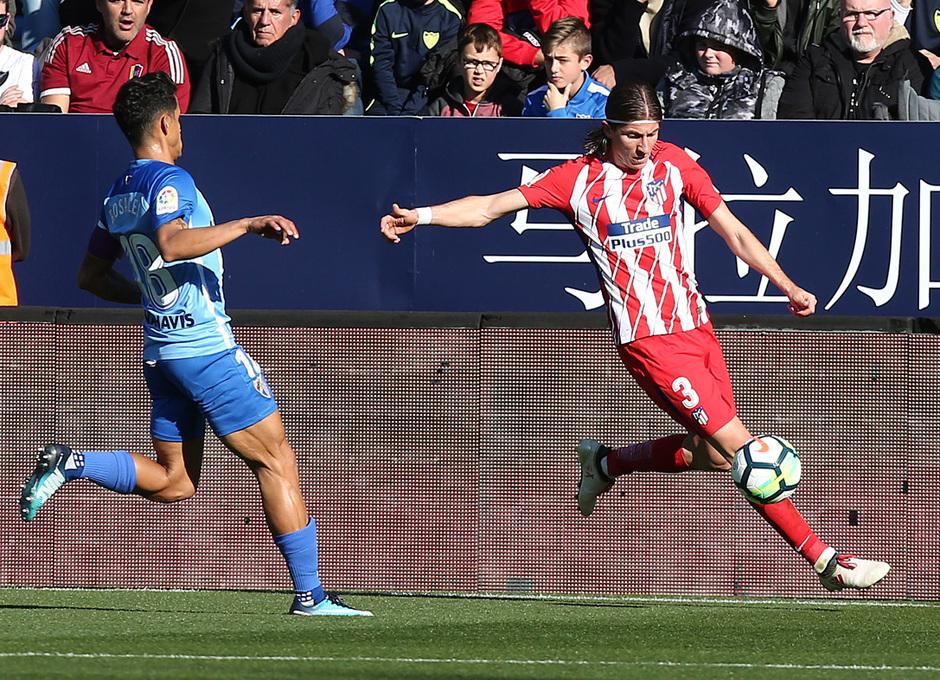 Temp. 17-18 | Málaga - Atlético de Madrid | Filipe Luis