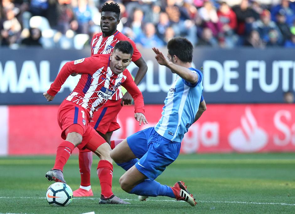 Temp. 17-18 | Málaga - Atlético de Madrid | Correa