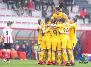 Temp. 17-18 | Athletic Club - Atlético de Madrid Femenino | Piña segundo gol