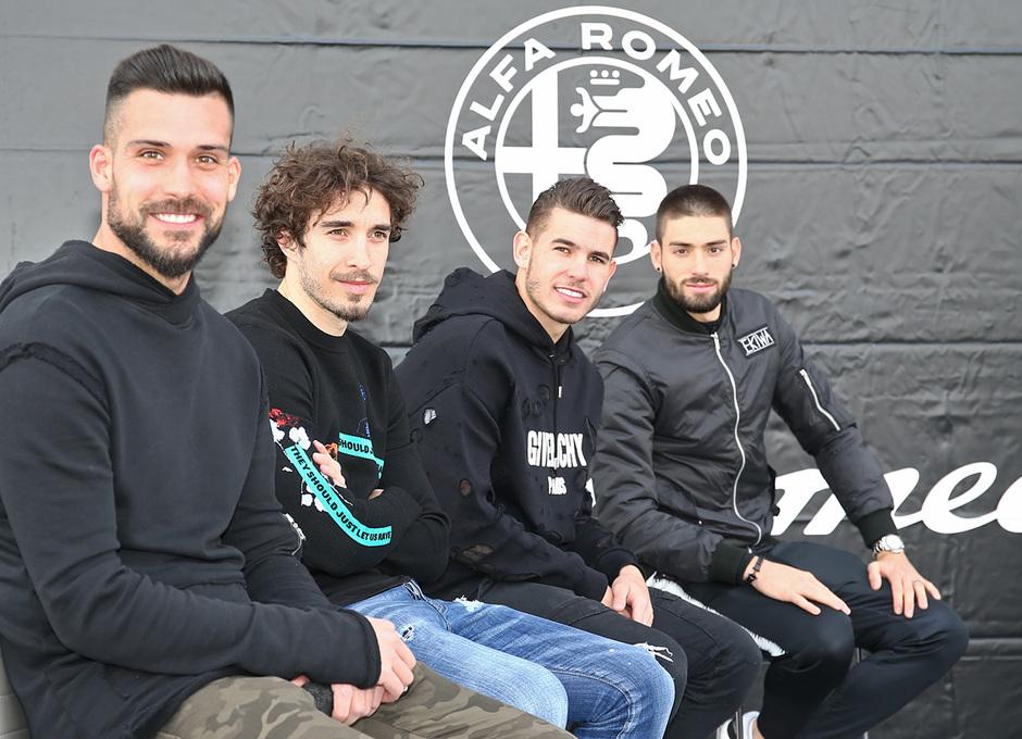 temporada 17/18. Acto Alfa Romeo Wanda Metropolitano. Jugadores