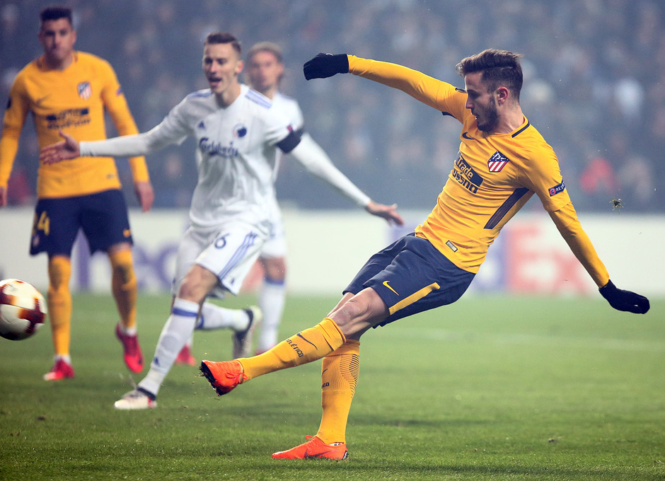 Europa League   Copenhague - Atleti - Saúl
