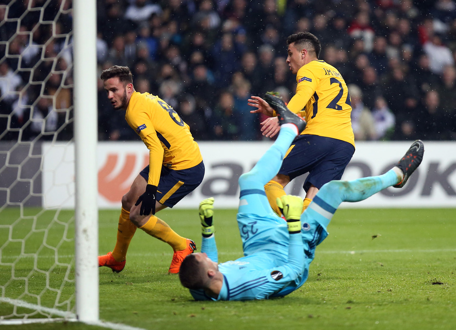 Europa League   Copenhague - Atleti - Gol de Saúl