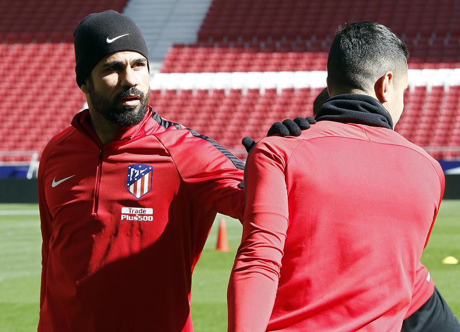 Temporada 17/18 | 16/02/2018 | Entrenamiento | Diego Costa