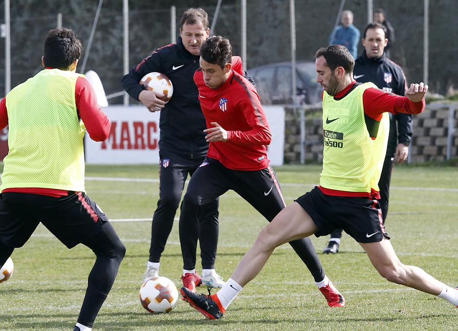 Entrenamiento | 19-02-18 | Juan Moreno y Godín