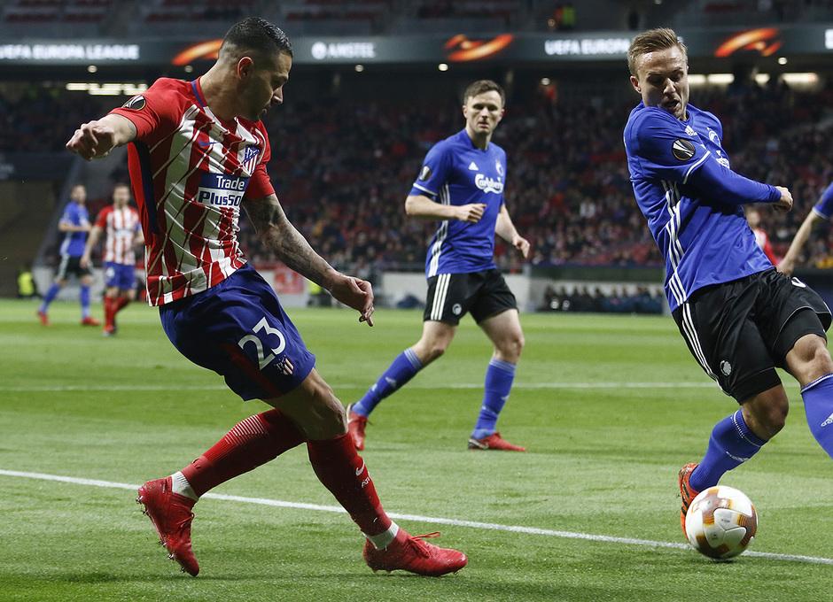 Europa League | Atleti - Copenhague | Vitolo