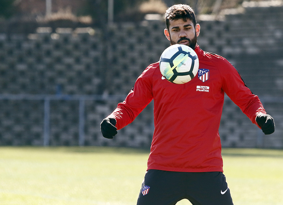 Entrenamiento | 24-02-18 | Diego Costa