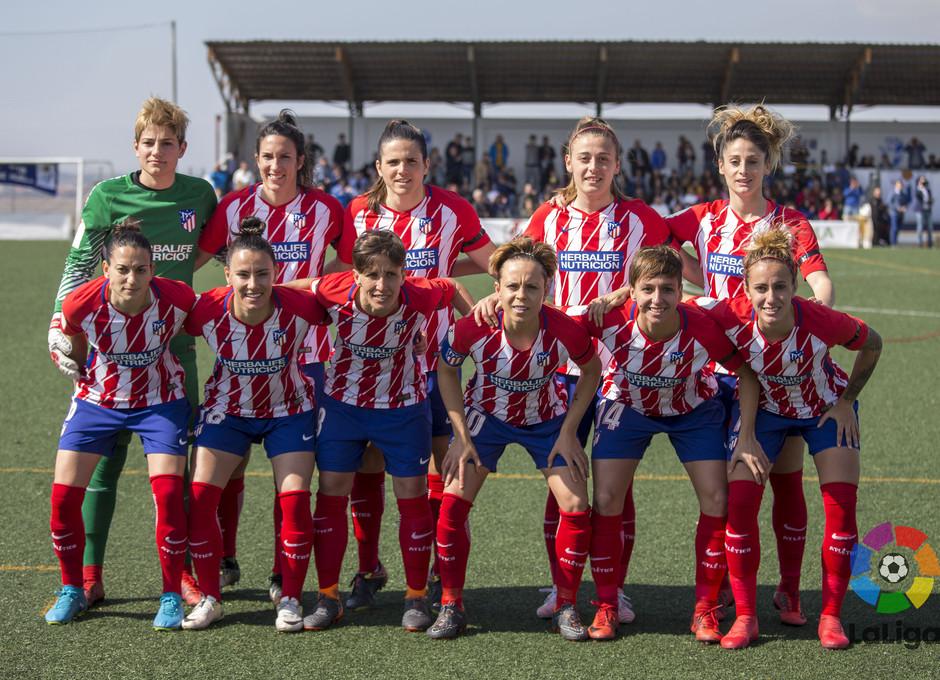 Temp. 2017-2018. Sporting de Huelva-Atlético de Madrid Femenino
