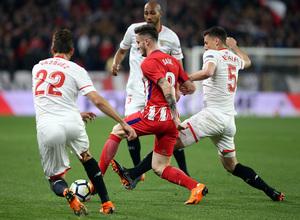 Jornada 25 | 25-02-18 | Sevilla - Atleti | Saúl