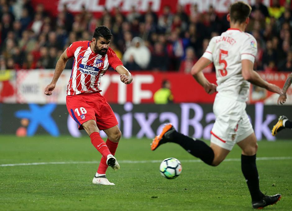 Jornada 25 | 25-02-18 | Sevilla - Atleti | Costa gol