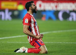 Jornada 25 | 25-02-18 | Sevilla - Atleti | Costa celebración