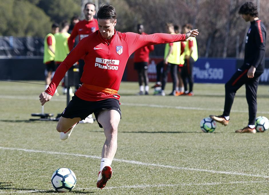 Temp 17/18 | Entrenamiento 26/02/2018 | Torres