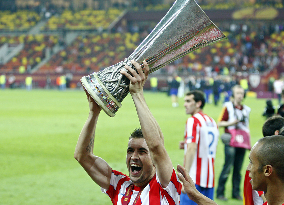 Gabi 400 partidos | Europa League 2012