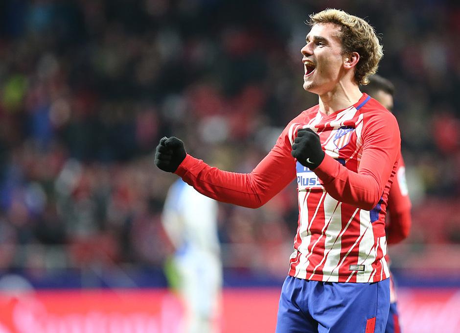 Jornada 26 | Atleti - Leganés | Griezmann celebración