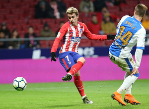 Jornada 26 | Atleti - Leganés | Griezmann 4 gol.