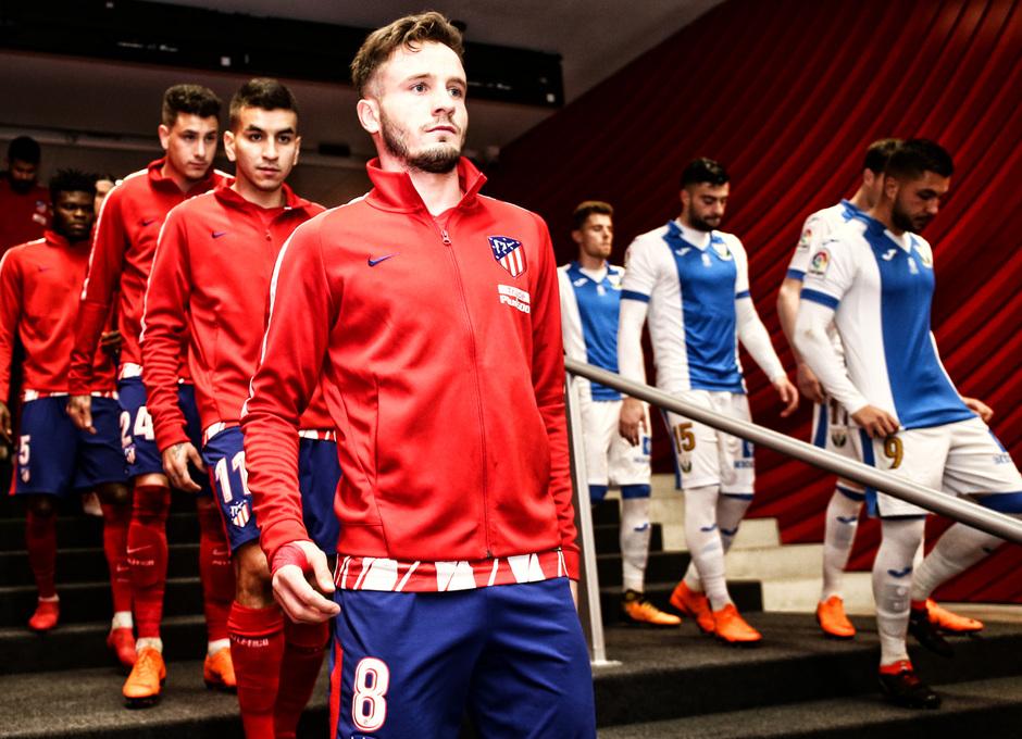 Temporada 17/18 | Atlético - Leganés | La otra mirada | Saúl (Ángel)