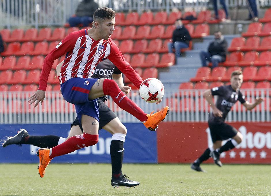 Temp. 17-18 | Atlético de Madrid B - Sanse | Schiappacasse