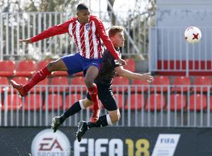 Temp. 17-18 | Atlético de Madrid B - Sanse | Manny