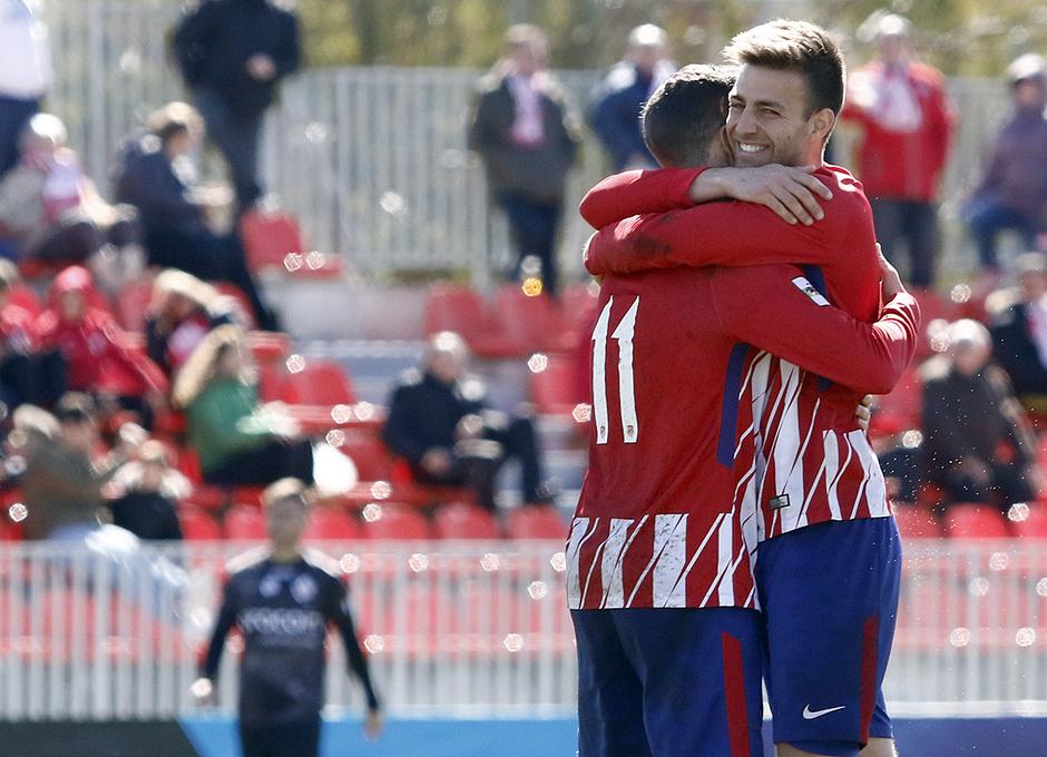 Temp. 17-18 | Atlético de Madrid B - Sanse | Celebración