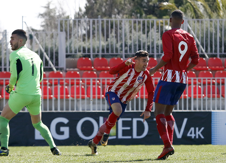 Temp. 17-18 | Atlético de Madrid B - Sanse | Jorge Ortiz