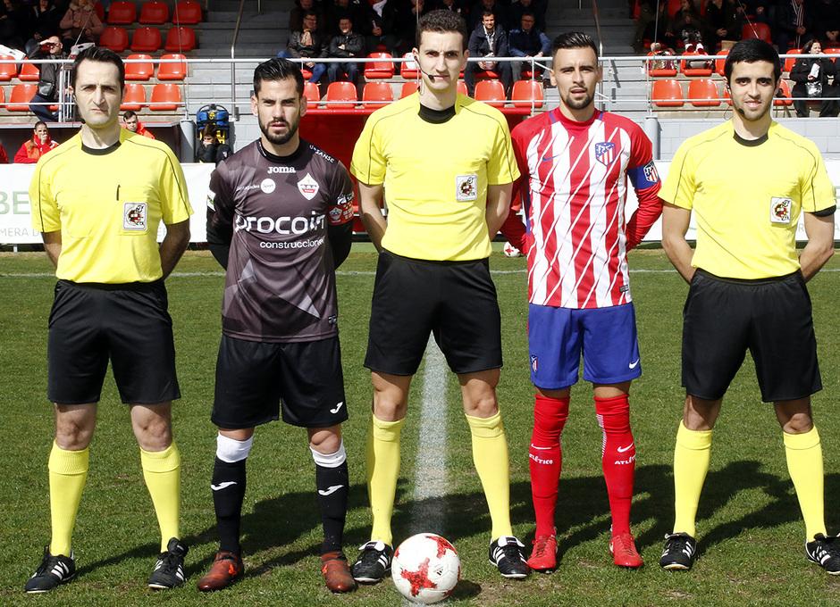 Temp. 17-18 | Atlético de Madrid B - Sanse | Capitanes