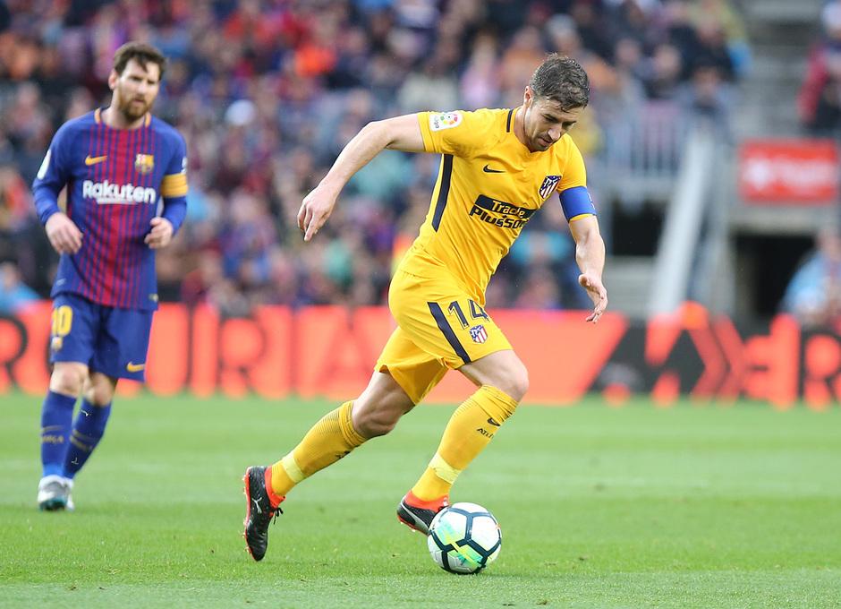 Temporada 2017-18 | Barcelona -Atlético de Madrid | Gabi