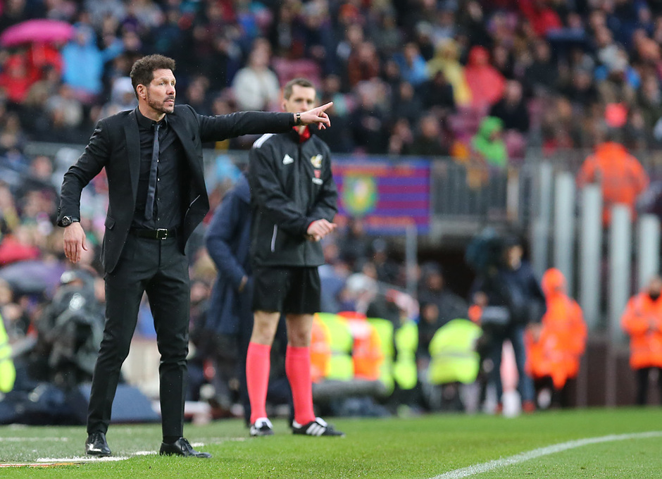Temporada 2017-18 | Barcelona -Atlético de Madrid | Simeone