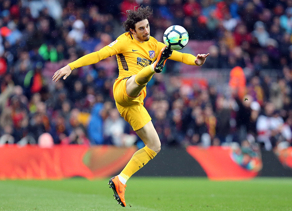 Temporada 2017-18 | Barcelona -Atlético de Madrid | Vrsaljko