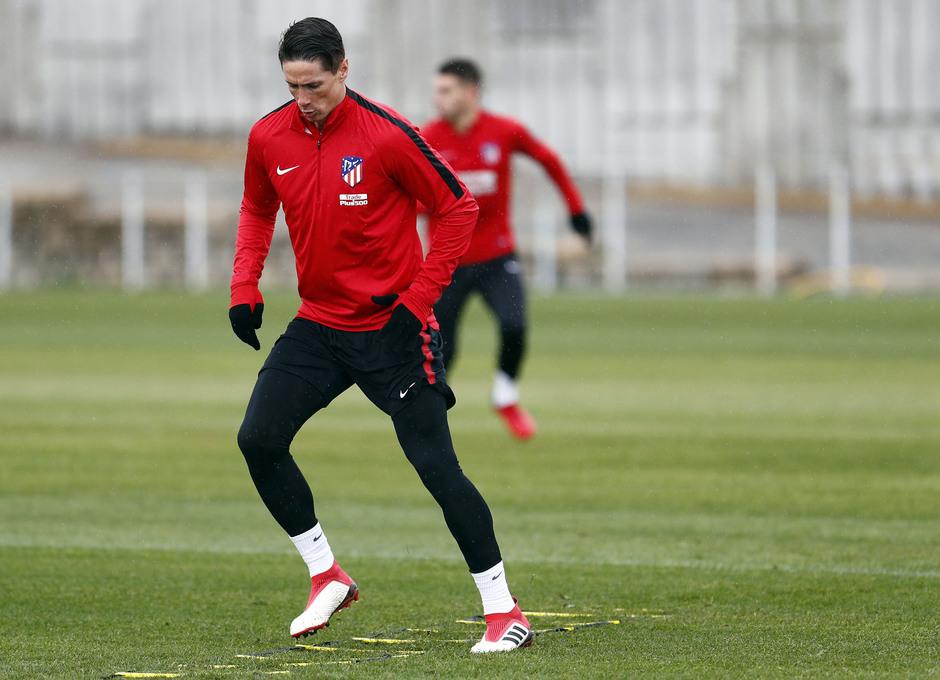 Temporada 17-18. Entrenamiento en la ciudad deportiva. 06_03_2018. Fernando Torres.