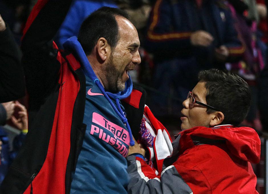 Temp. 17/18 | 08/03/18 | Atlético de Madrid - Lokomotiv | La otra mirada | Afición (Alberto)